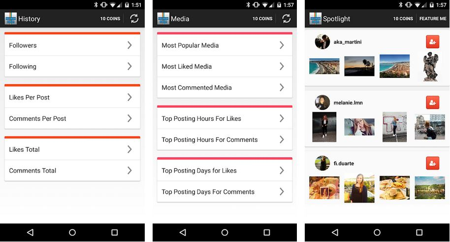 Aplikasi Follower Insight for Instagram