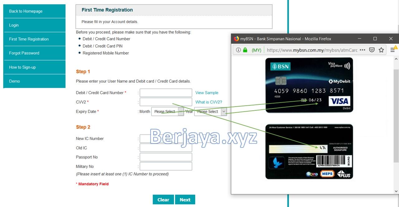 Cara Daftar Akaun MyBSN Secara Online