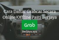 Cara Daftar Grabcar