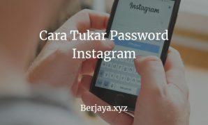 Cara Menukar Password Instagram