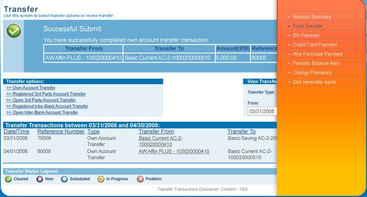 Check Balance Affin Bank Online