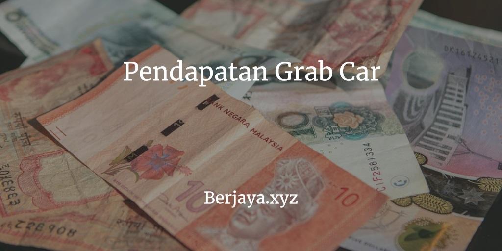 Pendapatan Grab Car