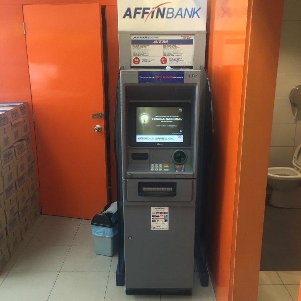 Semak Baki Akaun Affin Bank Melalui ATM