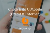 Check Baki U Mobile