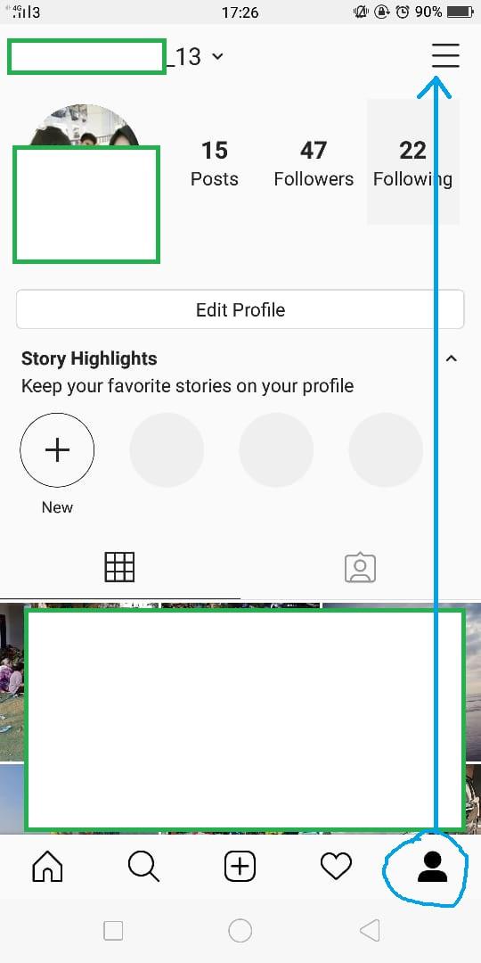 Cara Private Akaun Instagram