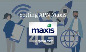 Cara Setting APN Maxis