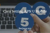 Cara Setting APN U Mobile