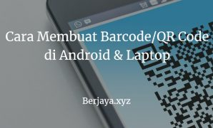 Cara membuat Barcode
