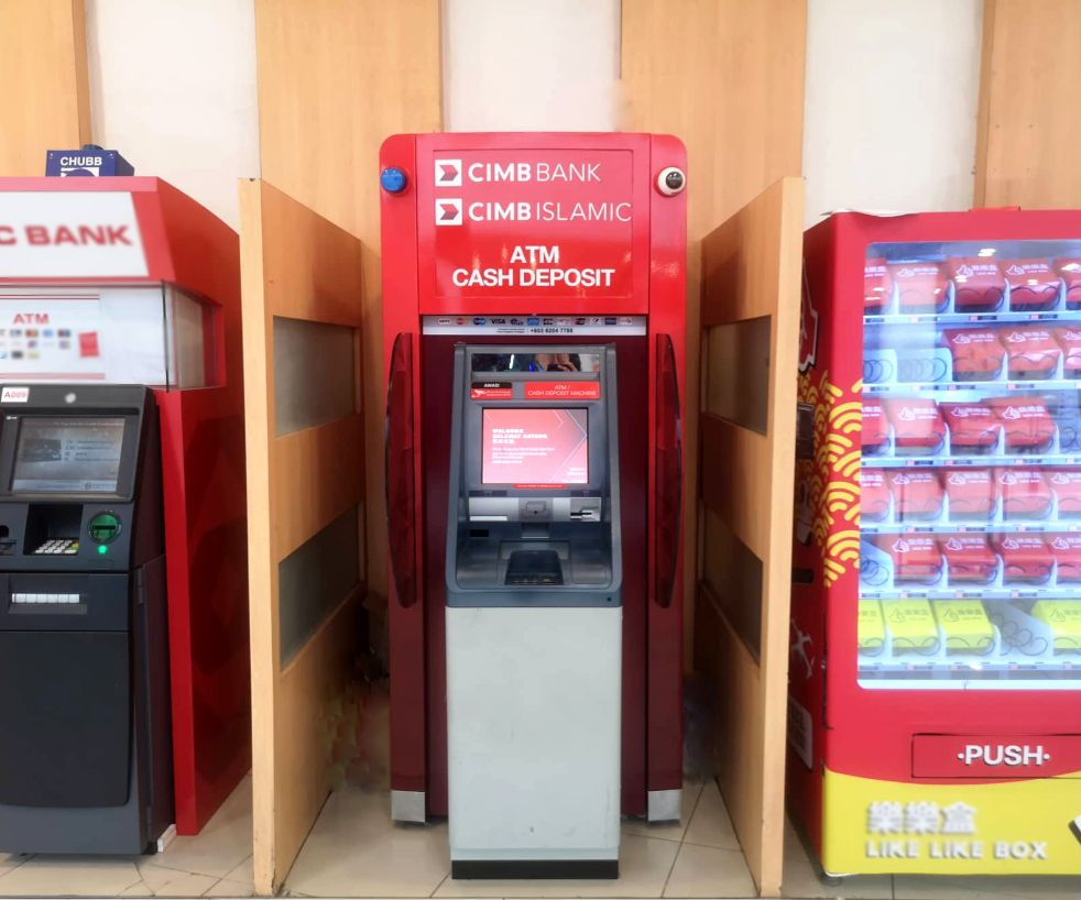 Mesin ATM CIMB Bank