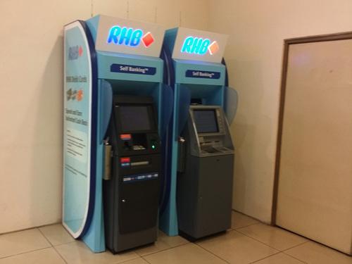 Semak Baki RHB Melalui ATM