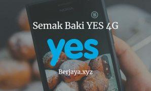 Semak Baki YES 4G