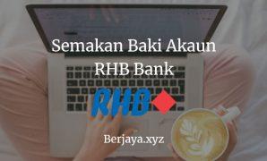 Semakan Baki Akaun RHB Bank