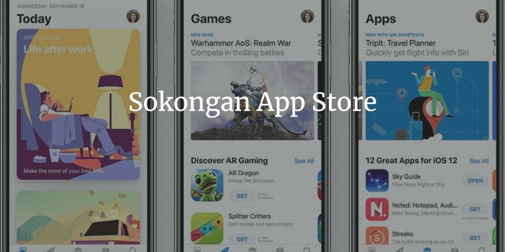 Sokongan App Store