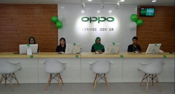 Baiki Handphone ke Service Center