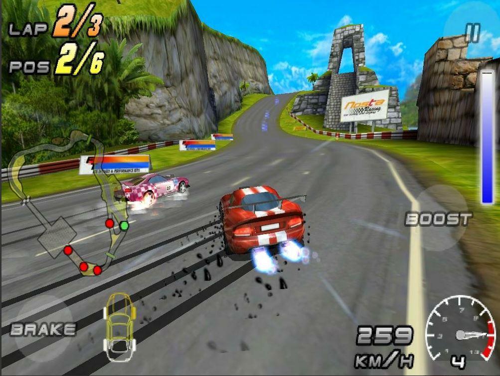 Game Kereta Raging Thunder 2