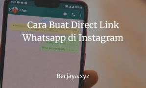 Cara Buat Direct Link Whatsapp di Instagram