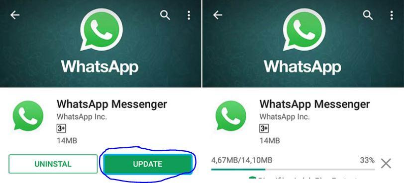 Kemas Kini WhatsApp