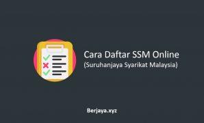 Cara Daftar SSM Online