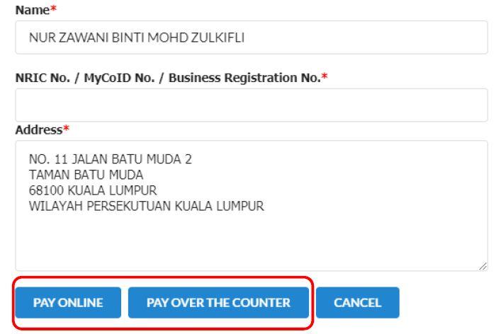Register SSM Online