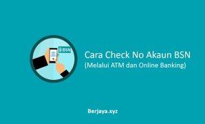 Check No Akaun BSN di ATM