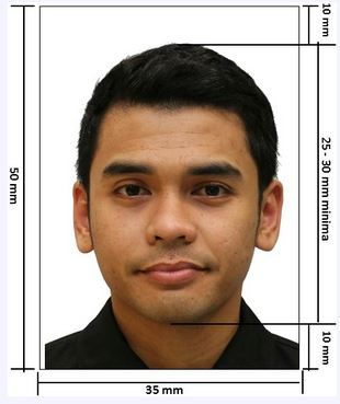 Spesifikasi Foto Pasport