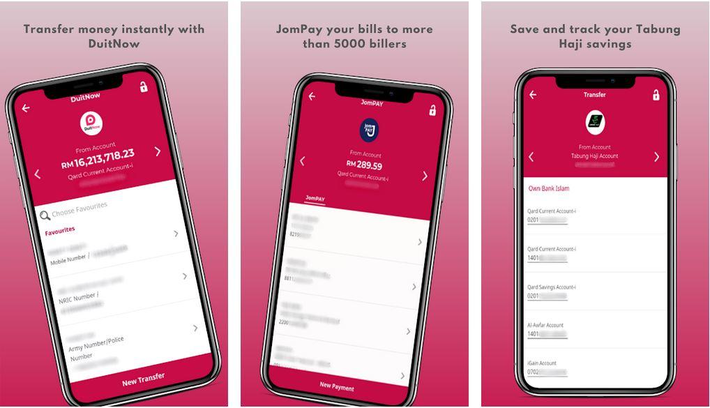 Aplikasi GO by Bank Islam