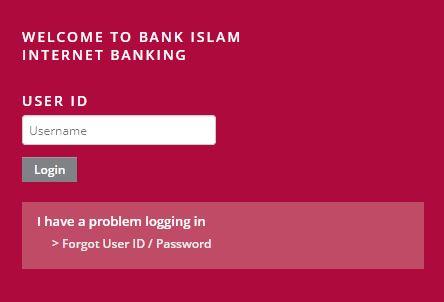 Cara Log Masuk Bank Islam Online